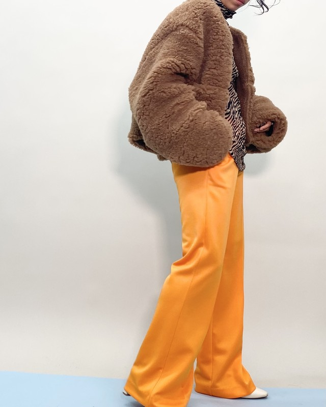 COLOR-JERSEY TROUSERS