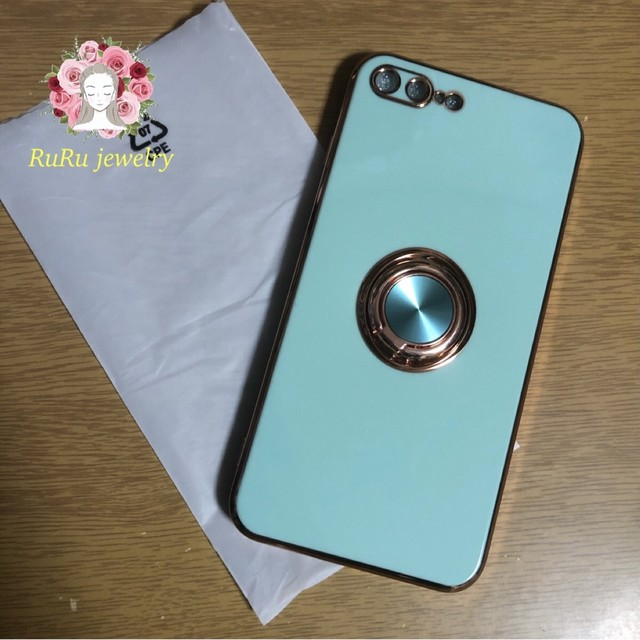 Magnet ring Luxury plating(iPhone case)