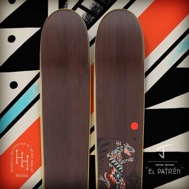 """【メーカー取寄せ】J skis - THE VACATION """"EL PATRON"""" HENRY HABLAK コラボ"""
