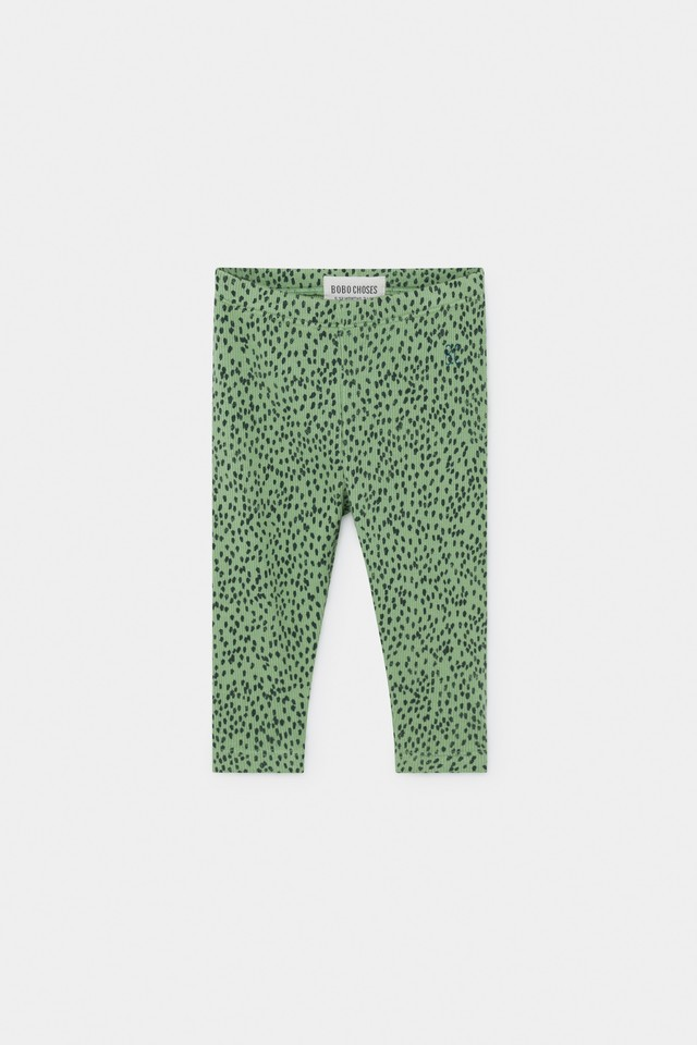 【20SS】bobochoses All Over Leopard Green Leggings