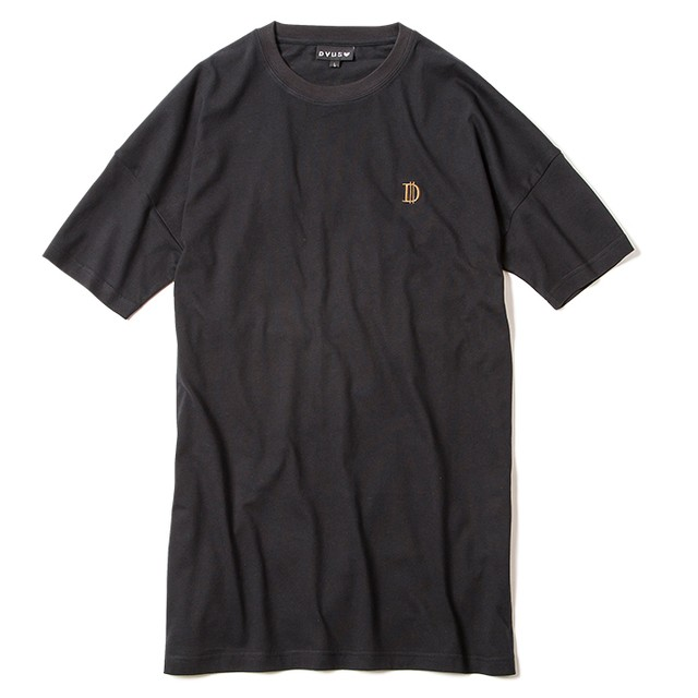 【Deviluse | デビルユース】D Long Length T-shirts(Black)