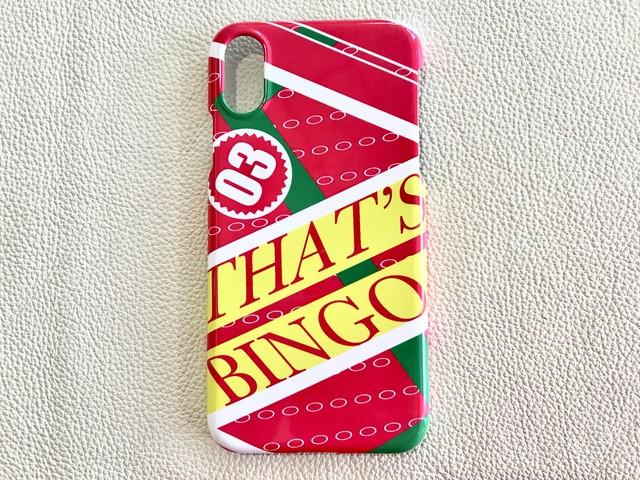THAT'S BINGO iPhone CASE (iPhoneX/Xs)