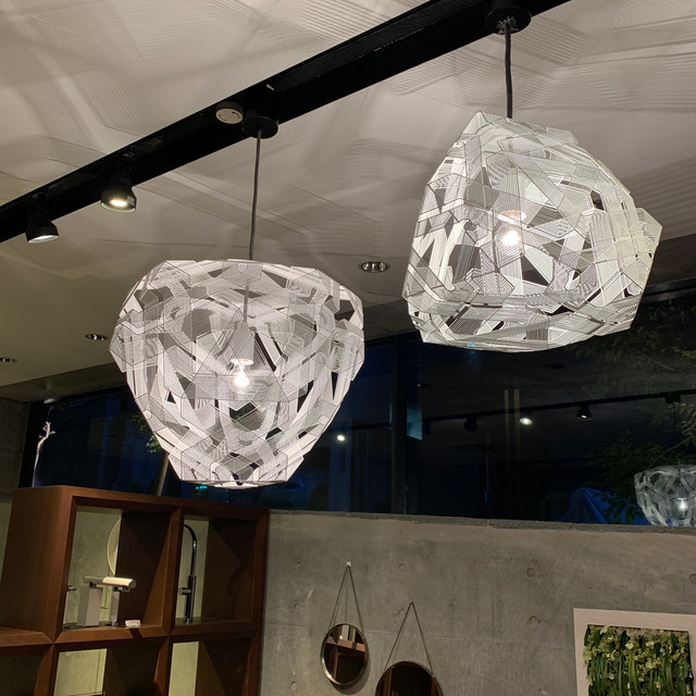 DIAMOND-M PENDANT LIGHT