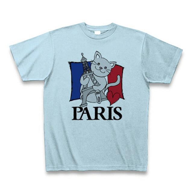 PARIS CAT -light- blue-