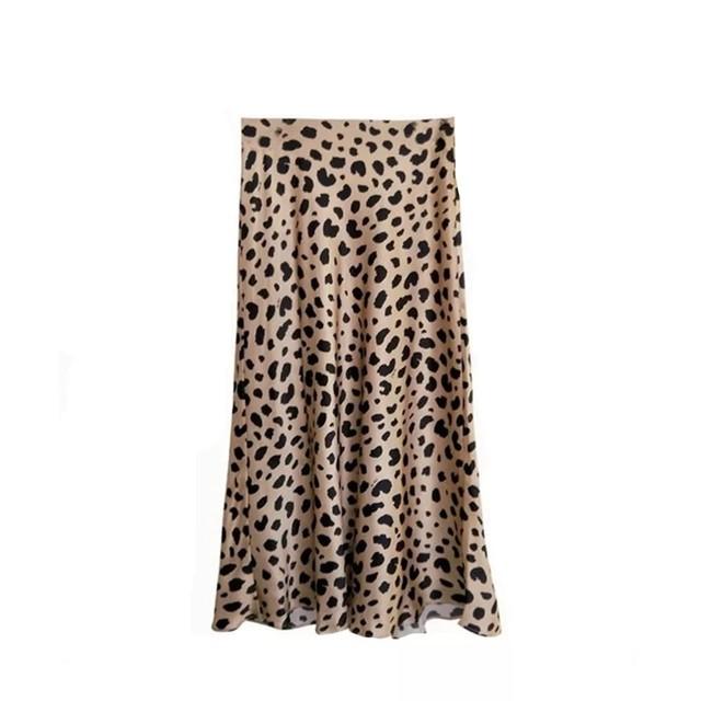 Leopard Vintage Skirt♥