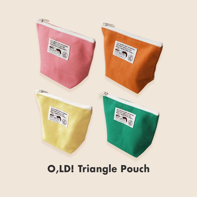 [OH,LOLLY DAY!] O,LD! トライアングルポーチ (全4色)