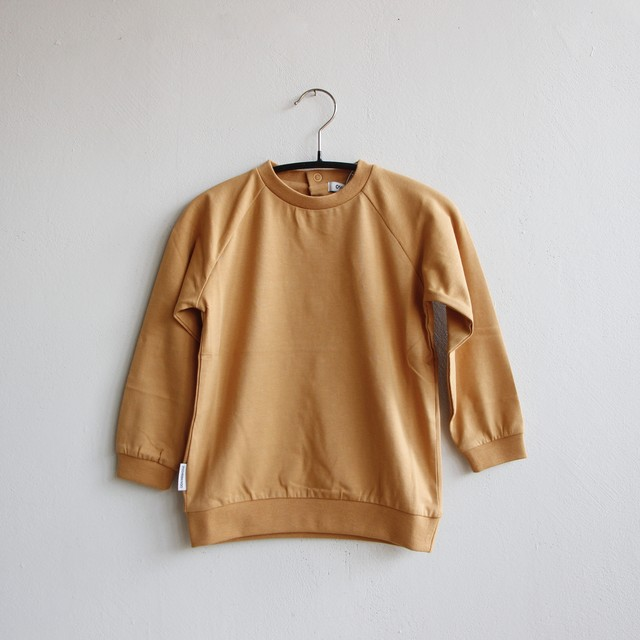 《MINGO. 2021SS》Long sleeve / Light Ochre
