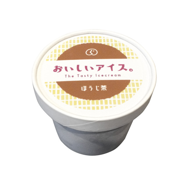 おいしいアイス。【ほうじ茶】