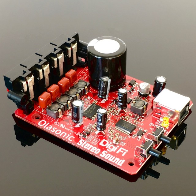 FS LED DigiFi No.15付録基板 サンプリング周波数/ビットレート表示用LED