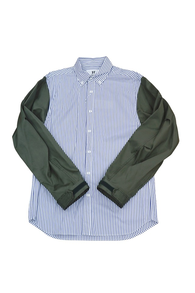 MODS SLEEVE SHIRTS (PIN STRIPE)