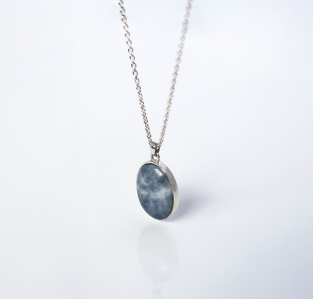HISUI 'EN'  / Necklace (Grey)
