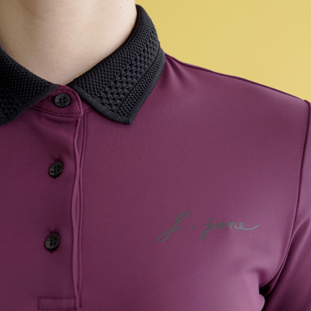Slim Liner T-Shirts  (Purple)