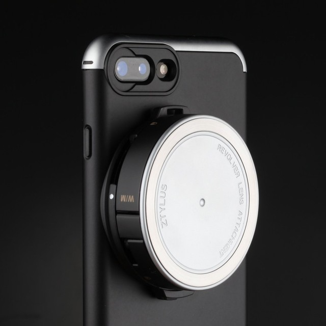 オフィシャルサイト限定販売【FOR IPHONE 8 PLUS】REVOLVER LENS CAMERA KIT - SILVER EDITION