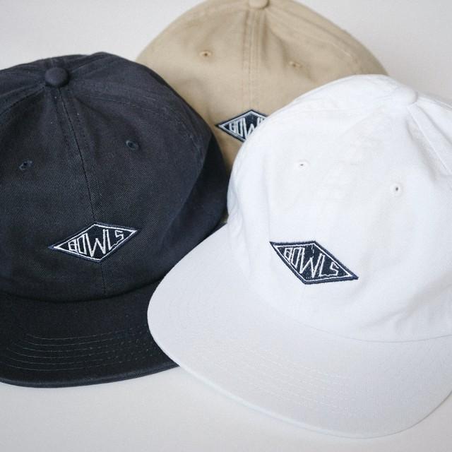 "BOWLS STORE ""Twill 6Panel Frame Logo Cap"""