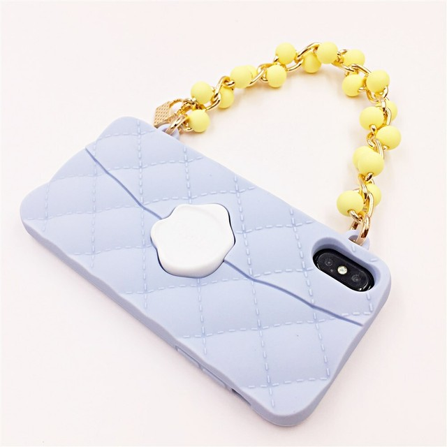 SEAL STAMPED BEADS HANDLE for iPhoneXSMAX