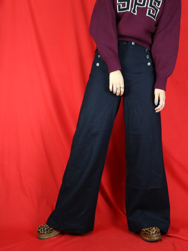 U.S.NAVY sailor pants【0566】