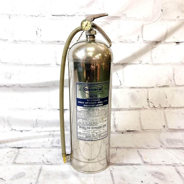 品番4387 GENERAL ジェネラル WS-900 水消火器 水消火タンク USA製 ディスプレイ ヴィンテージ