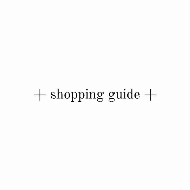 +shopping guide+必ずご購入前にお読みください