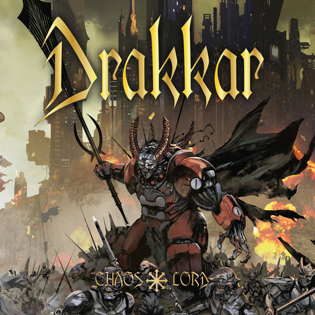 DRAKKAR『Chaos Lord』CD