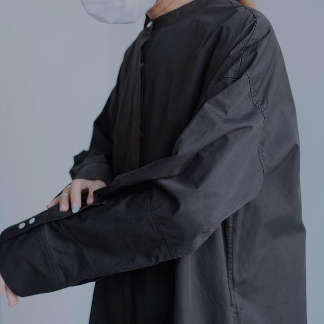 loomer / Cotton Garment Dye Onepiece[DARK OLIVE]