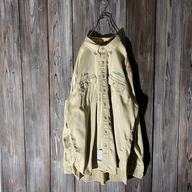 [Carhartt]Air Products khaki shirt