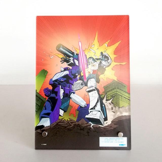 【特製ステッカー付】【予約注文商品】HERO-X PIT「トランスフォーマー  クラシックス VOL.2」アクリルパネル