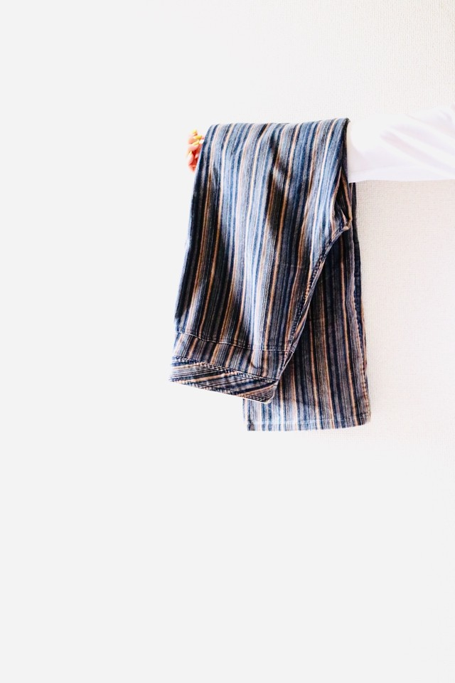 Vintage multi stripe corduroy pants