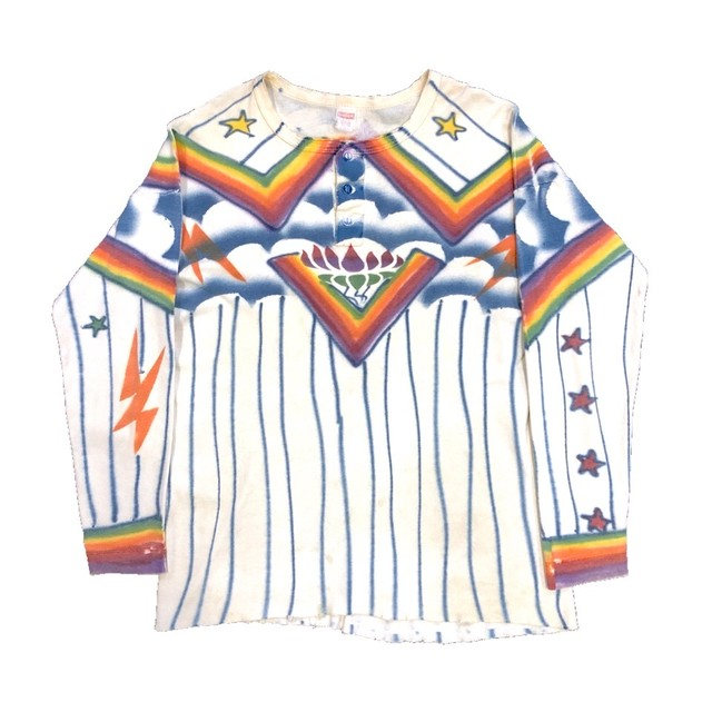 70'S HAND PAINTED TOPS
