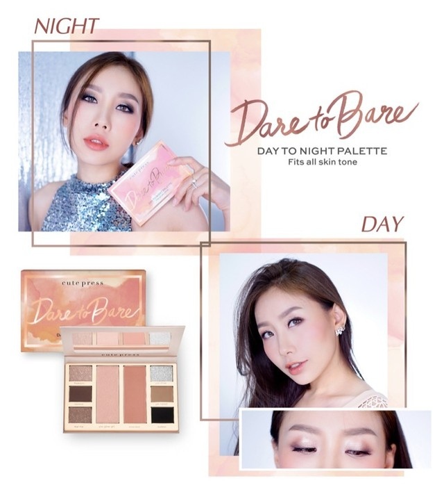 Dare to Bare Day to Night palette