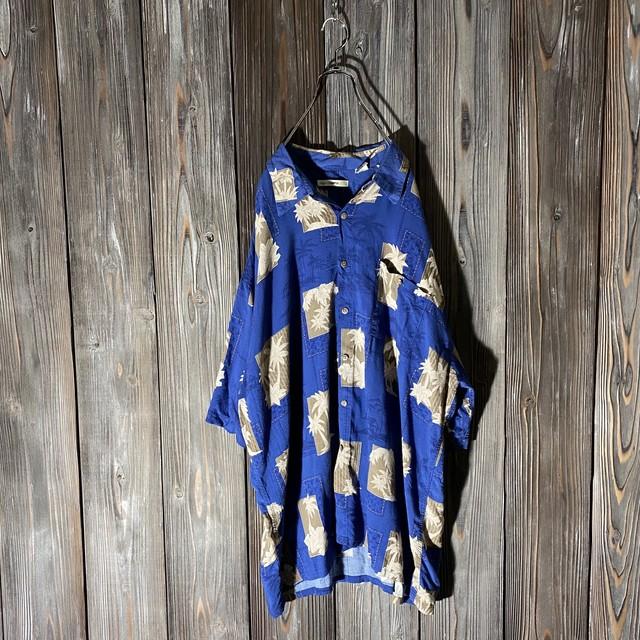 [used]rétro atmosphere Hawaiian shirt