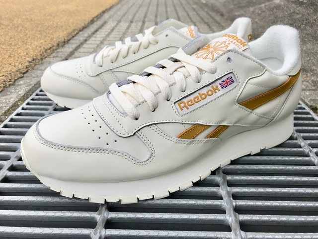 REEBOK CLASSIC LEATHER MU (CHALK/WILD KHAKI)