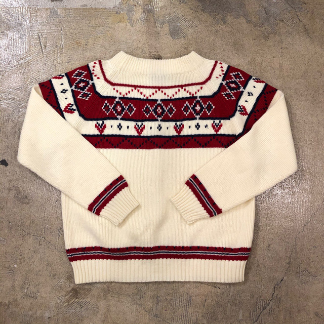70's JCPenney Sweater ¥5,800+tax