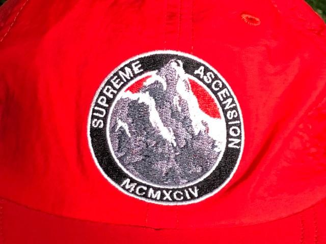 Supreme ASCENSION NYLON 6-PANEL CAP RED  15JG7306