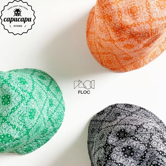 «sold out» paisley bucket hat  3Colors