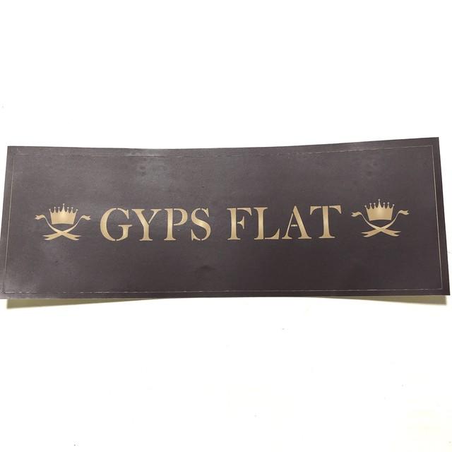 GYPS FLAT オリジナルステッカー