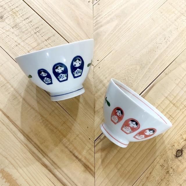 マトリョーシカ  ご飯茶碗 ★