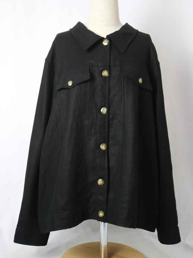 linen shirt jacket【5699】