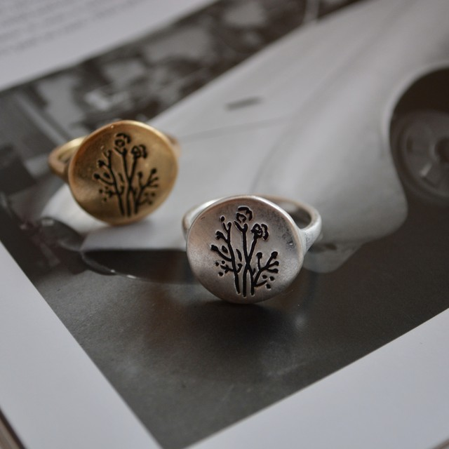 to flowering plant ring