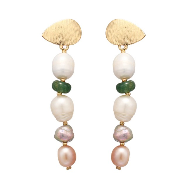【OUTLET】P1015 - Pearl Long Dangle