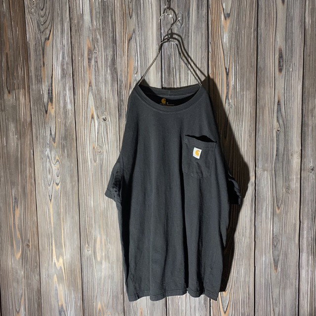[Carhartt]black pocket T shirt