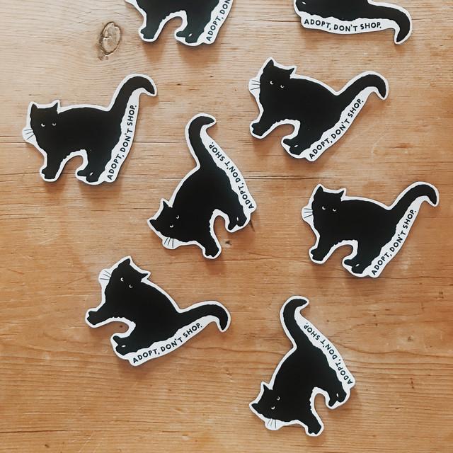 CAT magnet Set of 2