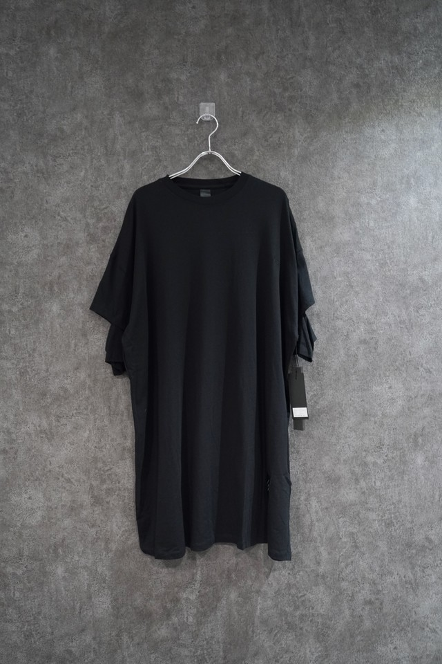 【2021緊急事態延長SALE】 ODEUR slit  t-shirt