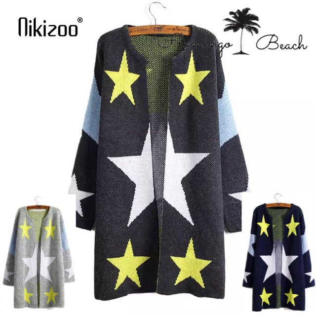 【FlamingoBeach】star cardigan