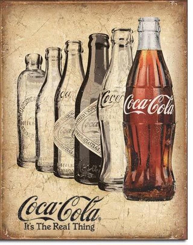 引続きセール主力商品20%OFF!  【ブリキ看板】 Coca Cola 【ティンプレート】 2252