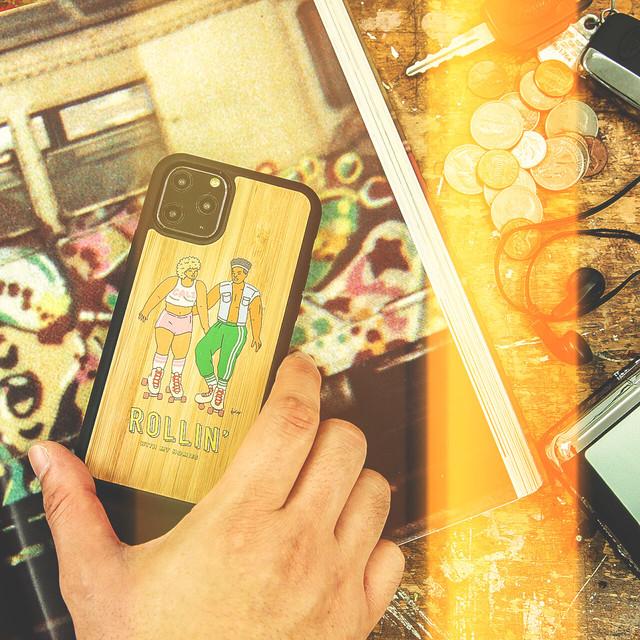 """バンブーiPhoneケース """"TROPICAL STATE OF MIND"""" 【各機種対応】"""
