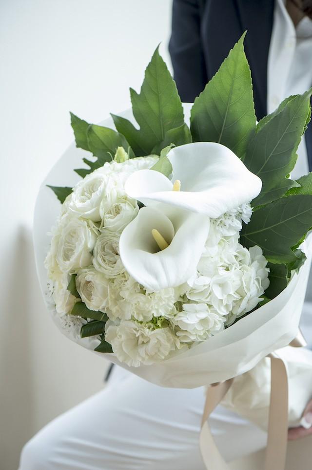 <母の日ギフト> 4,000円の花束を贈る