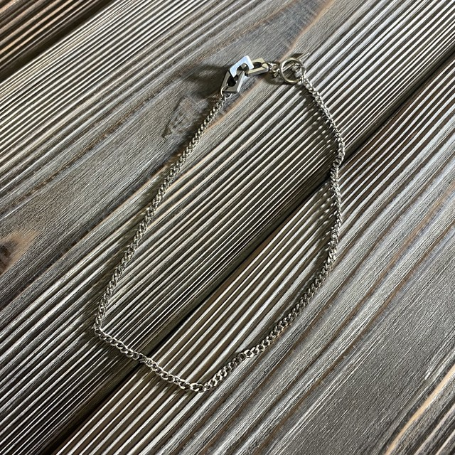 [used]silver necklace