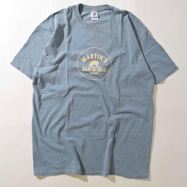 【Lサイズ】MARTINS BAR B QUE JOINT TEE 半袖Tシャツ L.BLUE L 400601200137