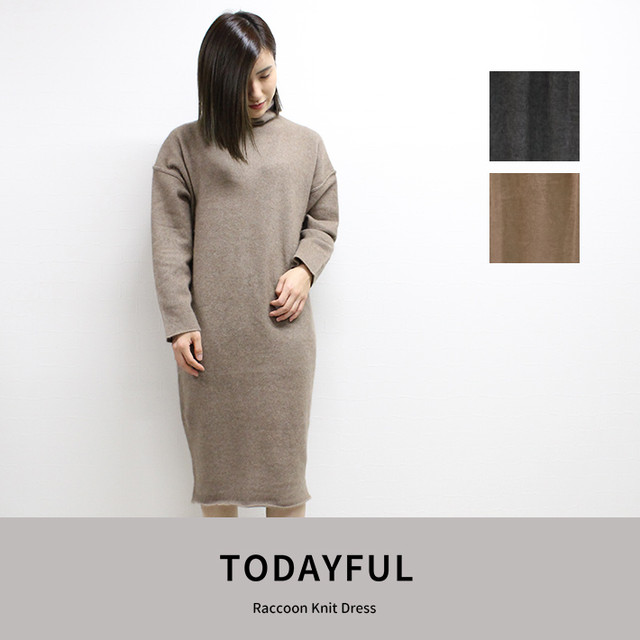 TODAYFUL | Raccoon Knit Dress  11820332