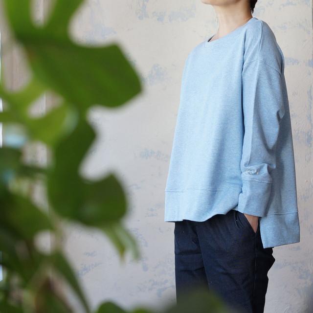 「new day」刺繍ロゴ・長袖カットソー *1% SHUHEI OGAWA